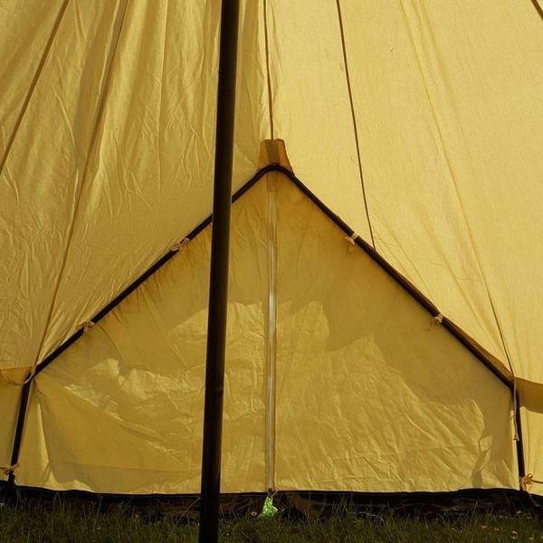 Sahara telt, diameter 4 m, 340 gsm