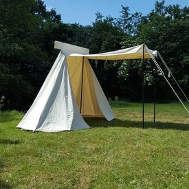 Tenda da artigianato vichingo, 4x2,25 m