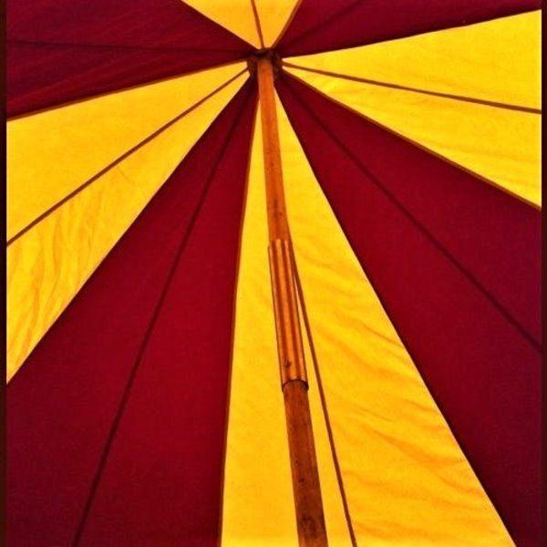 Lansquenet telt, 6 m