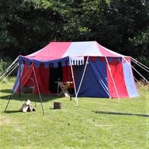 Tenda medievale Borgogna, 3 x 5 m