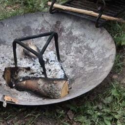 Campfire plate