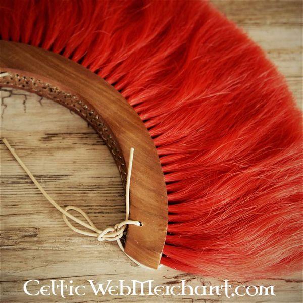 Deepeeka Romeinse helmkam, rood