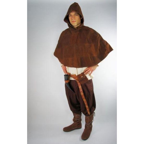 Leonardo Carbone Leather cucullus
