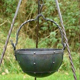 No início da Idade Média litro 3,5 caldeirão