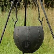 Tire-bouchon en fer forgé à la main
