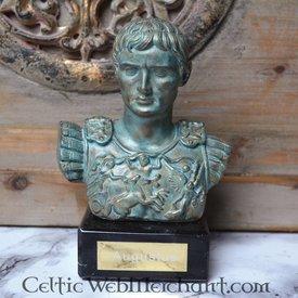Busto Augusto di Prima Porta bronzo