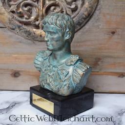 Bust Augustus Prima Porta bronze