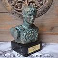 Buste Augustus Prima Porta brons