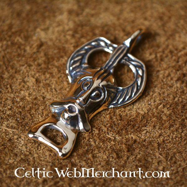 Odin amulet bronze