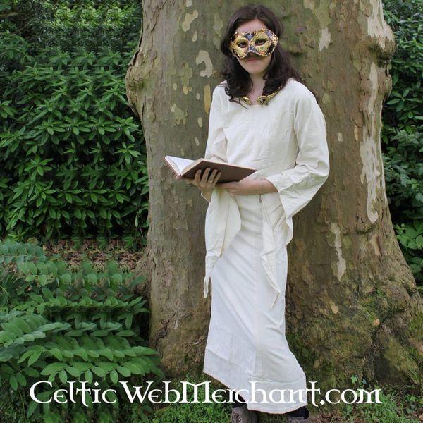 Dress Fand white