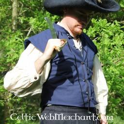 English Civil War dublet niebieski