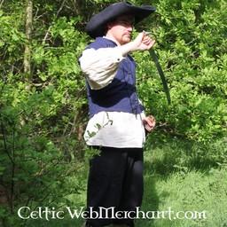 English Civil War doublet blue