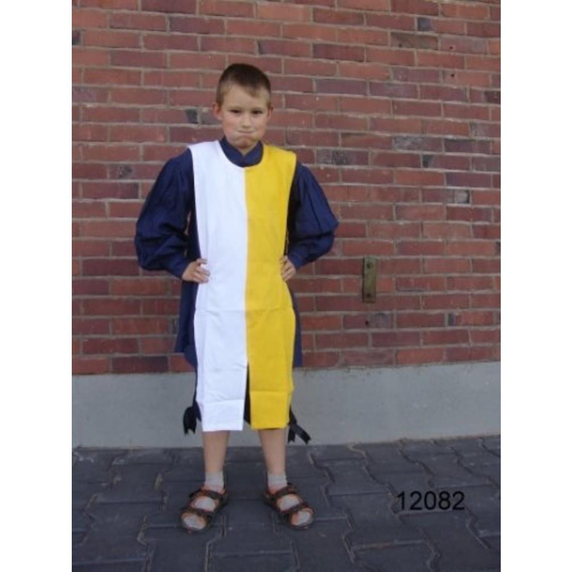 Leonardo Carbone Surcoat pour enfants mi-parti