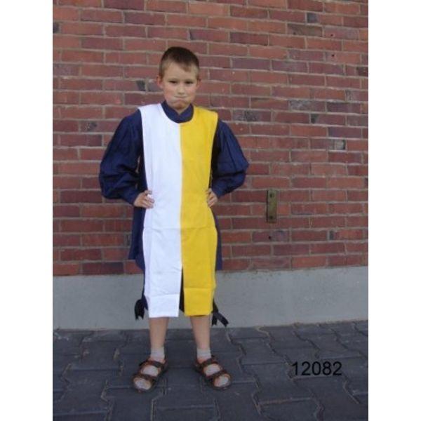 Kinderoverkleed mi-parti