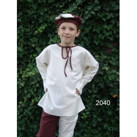 Chemise de garçon médiévale