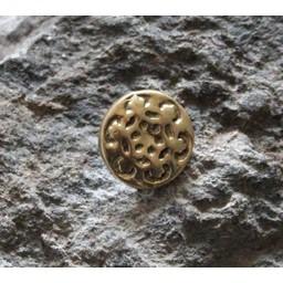 Uppsättning av 10 1400-talet knappar