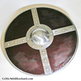 escudo redondo de madeira