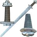 Espada vikinga Loki (lista para la batalla)