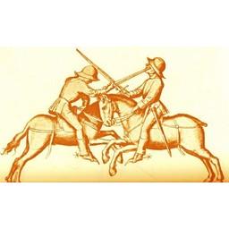 Medieval pojedynczy Miecz rycerz