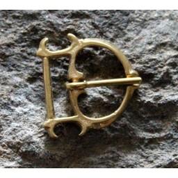 Lyxig gotisk spänne (1350-1400)