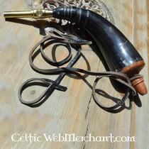 18. Jahrhundert Schießpulver Horn