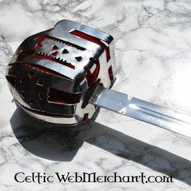 Deepeeka Koszyk rękojeści pałasz Culloden, Glasgow kosz