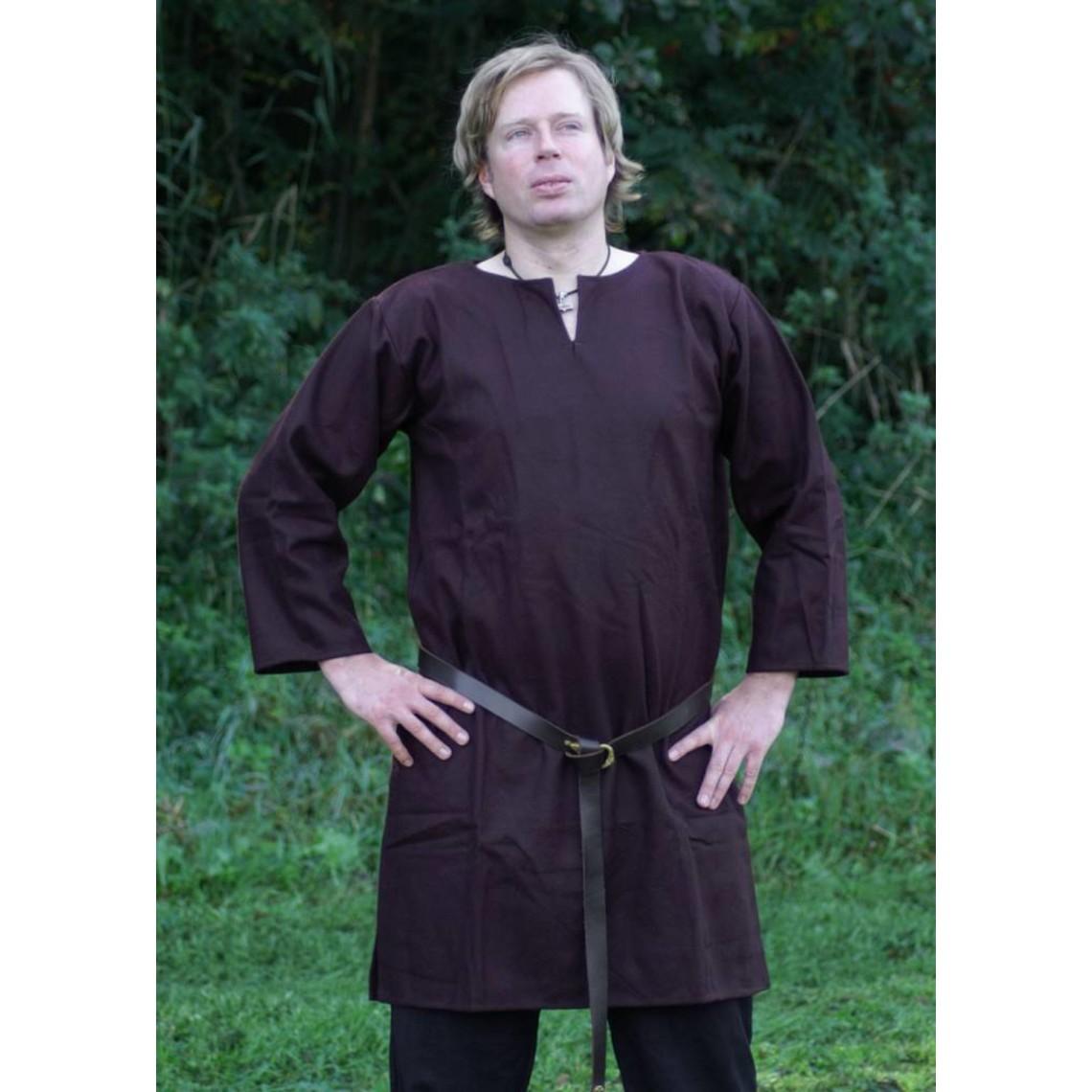 Ulfberth Long tunique marron