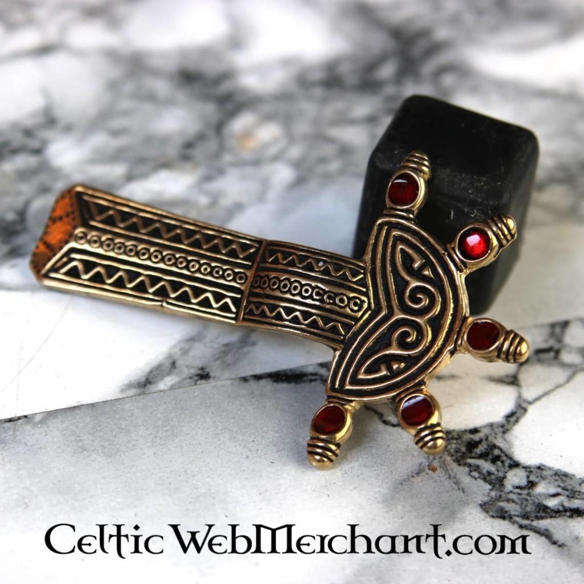 Merovingian bow fibula