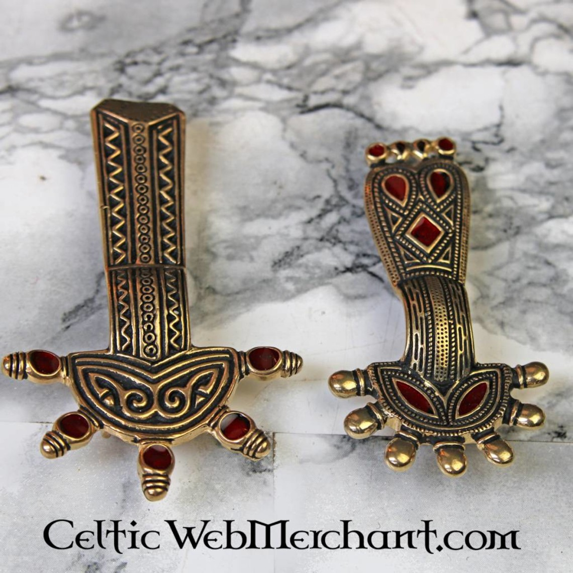 Fibula di arco sassone Kent