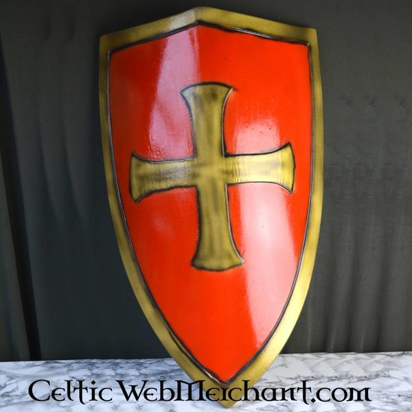 Epic Armoury LARP tempelridder Skjold rødt