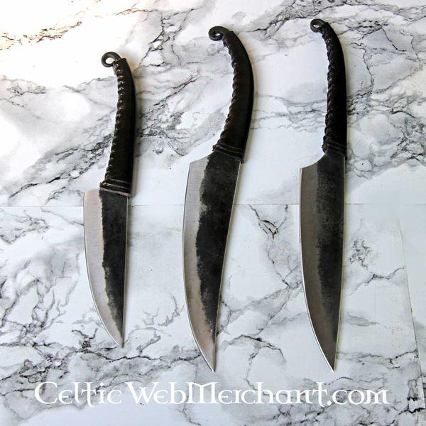 Celtic La Tene nóż, wygięte ostrze