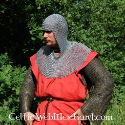 Chainmail coif mild steel