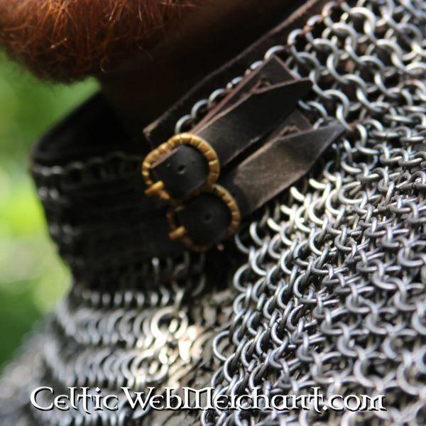 Ulfberth anelli piatti mantello di Bishop rotonde rivetti
