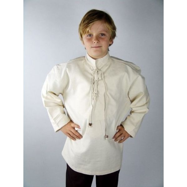 Leonardo Carbone Håndvævet shirt til drenge