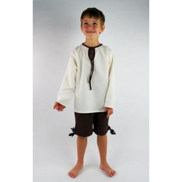 Chłopca trzy czwarte spodnie