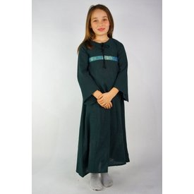 Girl's dress Ariane, green