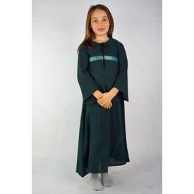 Pigens kjole Ariane, grøn