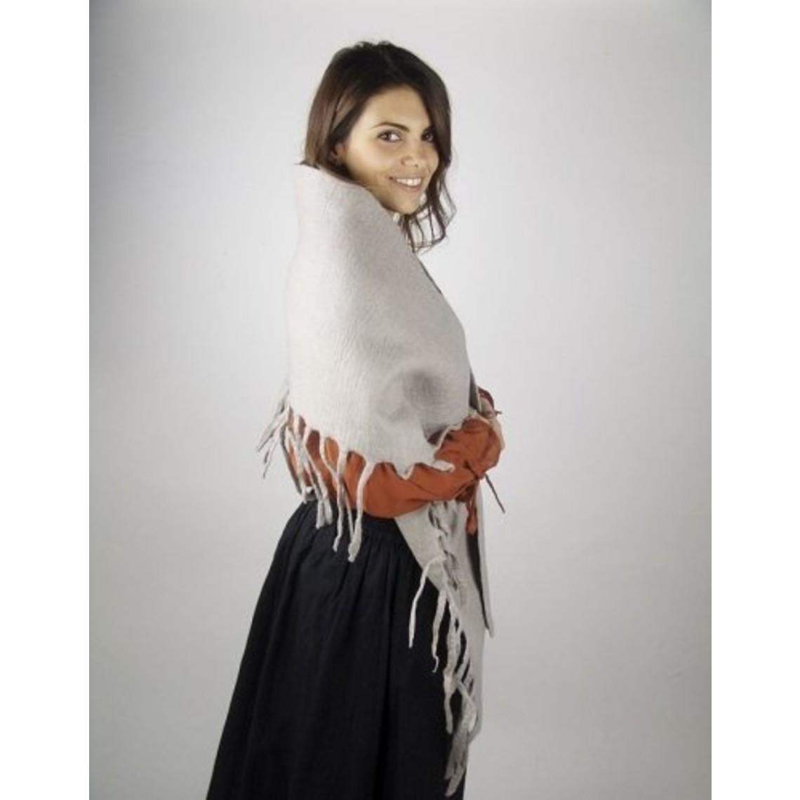 Leonardo Carbone Chal de lana del siglo XVII
