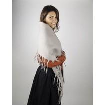 Châle de laine du 17ème siècle