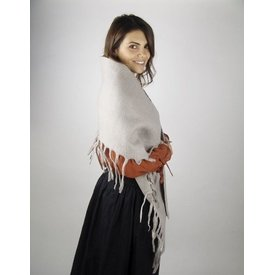 17th century woollen shawl grey, special offer!