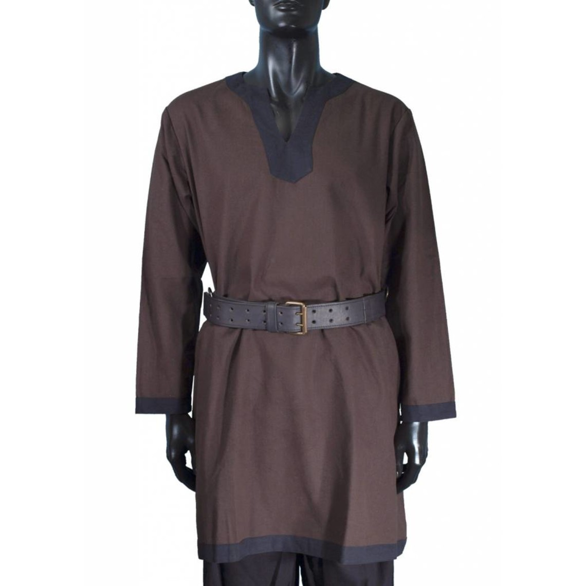Epic Armoury Medieval long-sleeved tunic brown