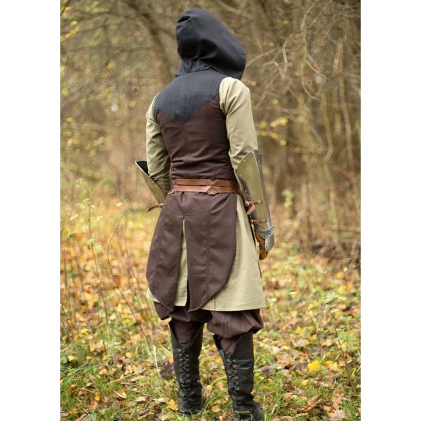 Epic Armoury Mouwloze jas Assassins Creed, bruin-zwart