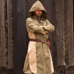 Sleeveless coat Assassins Creed, green-sand