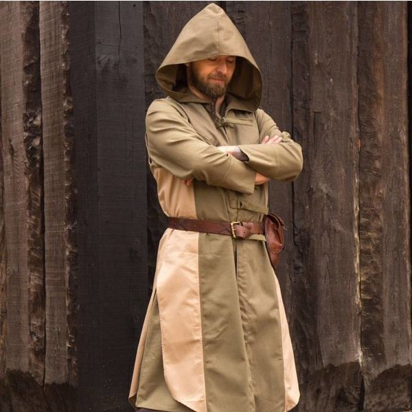 Epic Armoury Sleeveless coat Assas Creed, grön-sand