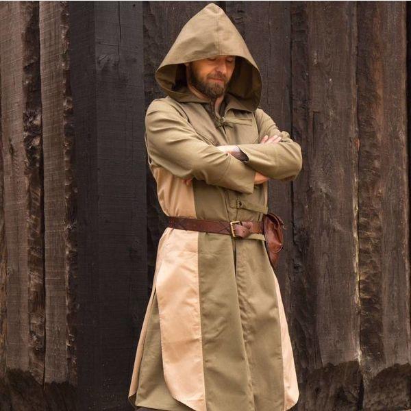 Epic Armoury Sleeveless coat Assassins Creed, green-sand