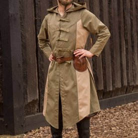 Epic Armoury Cappotto senza maniche Assassins Creed, verde-sabbia