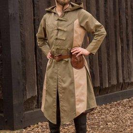 Epic Armoury Płaszcz bez rękawów, Assassins Creed, zielono-piaskowy
