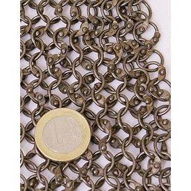 Ulfberth 1 kg rund chainmail ringar-Runda nitar