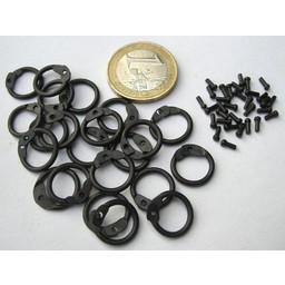 1 kg round chainmail rings-round rivets