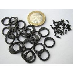 1 kg runde chainmail ringe-Runde nitter